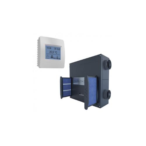 Duplex 250 Easy rekuperators ar skārienjūtīgu vadības pulti. 280 m3/h